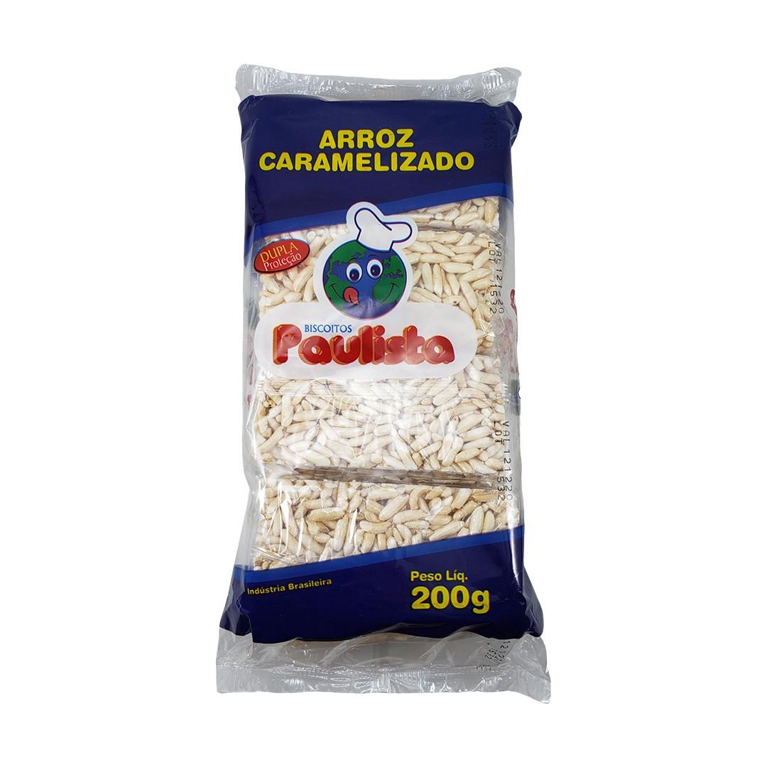 Biscoito de Arroz Caramelizado Paulista 200g