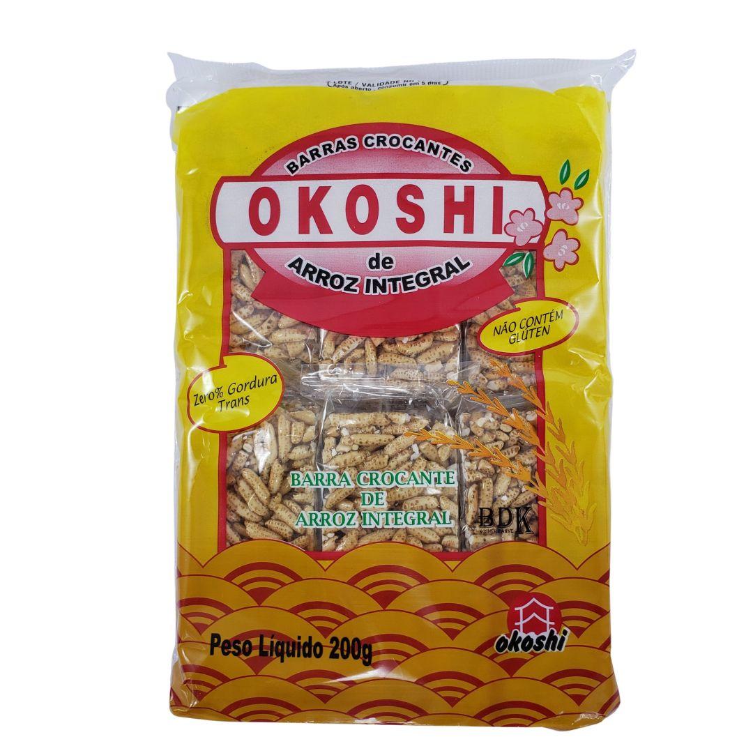 Biscoito de Arroz Integral Okoshi 200g