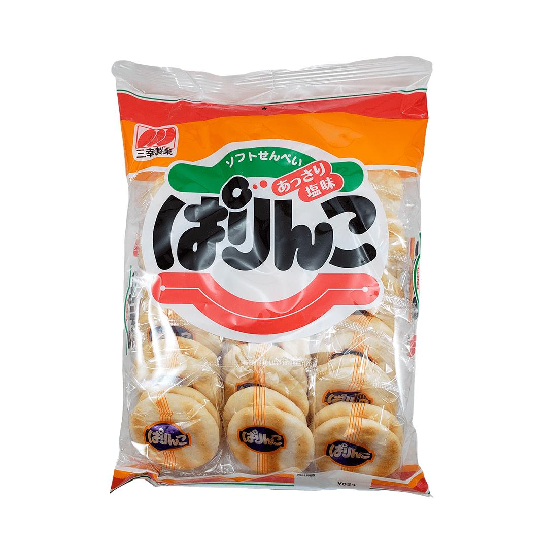 Biscoito de Arroz Japonês Parinko Sanko 123g
