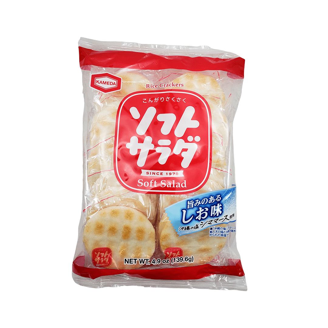 Biscoito de Arroz Japonês Soft Salad Kameda 139,6g
