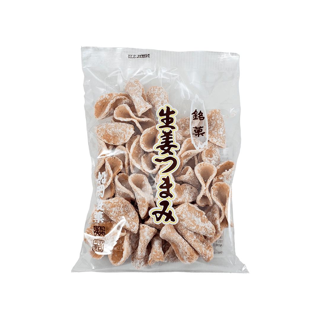 Biscoito de Gengibre Japonês Shoga Tsumami Sembei 140g