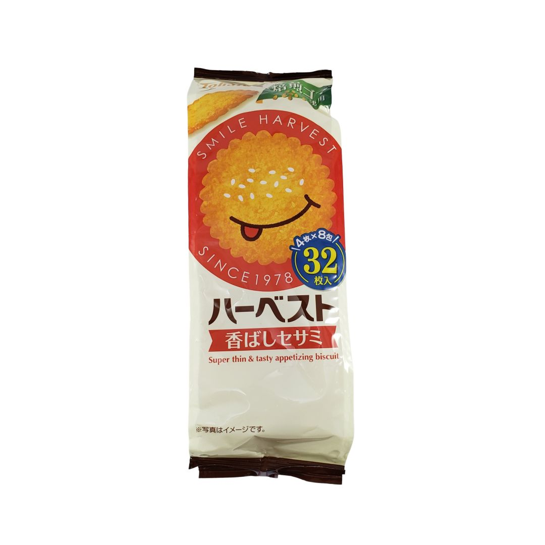 Biscoito de Gergelim Japonês Tohato 100g