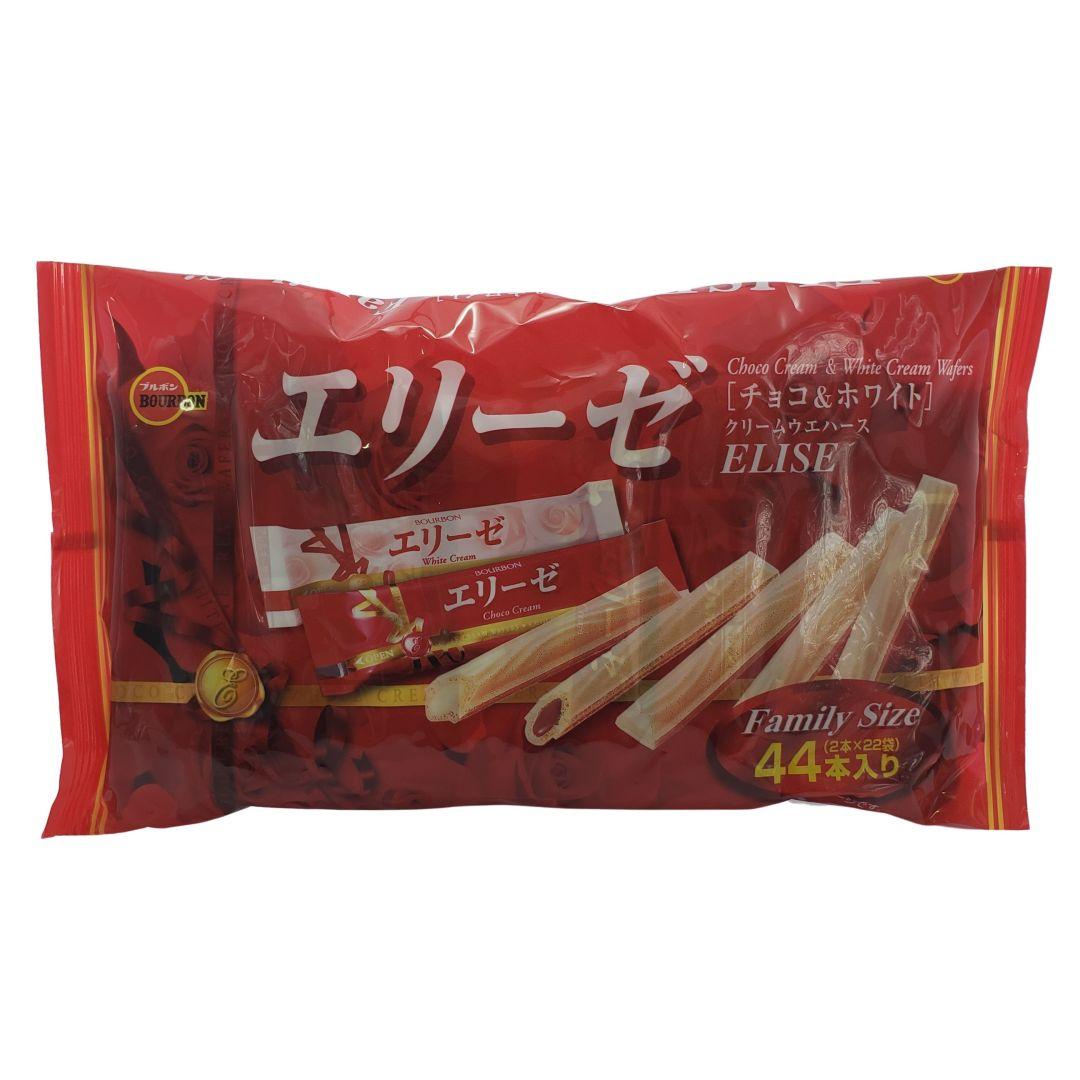 Biscoito Doce Japonês Bourbon Elise Family Size 173g