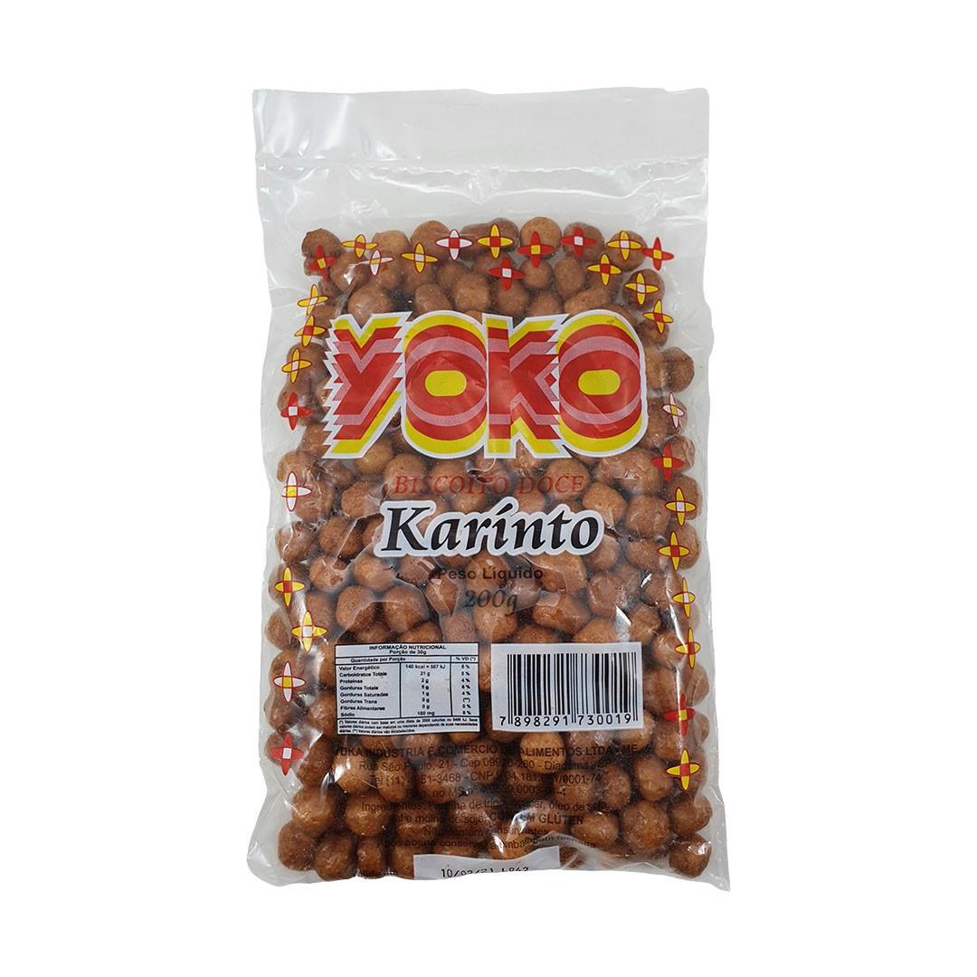 Biscoito Doce Karinto Yoko 200g