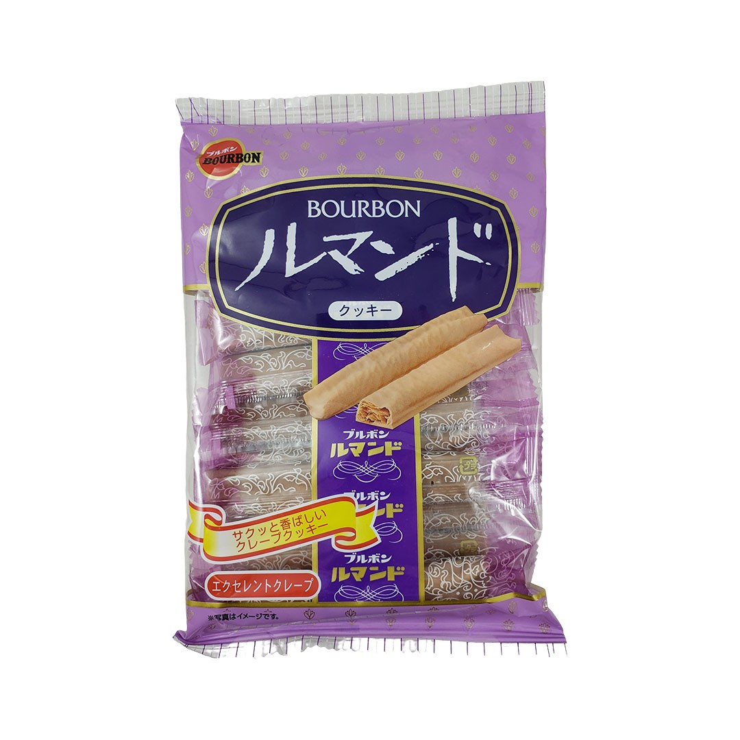 Biscoito Folhado Japonês Bourbon Lumonde 88g