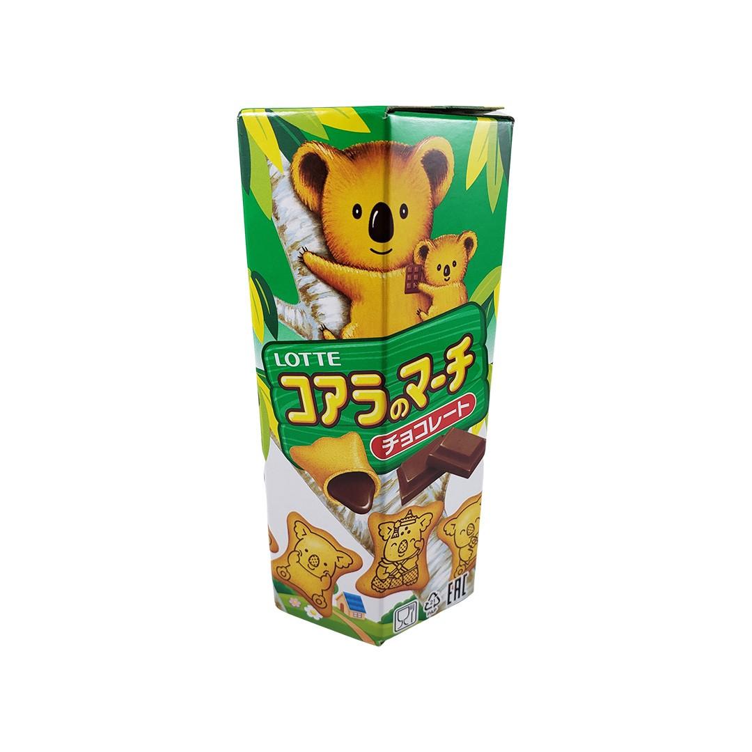 Biscoito Koala no Machi Lotte Chocolate 37g