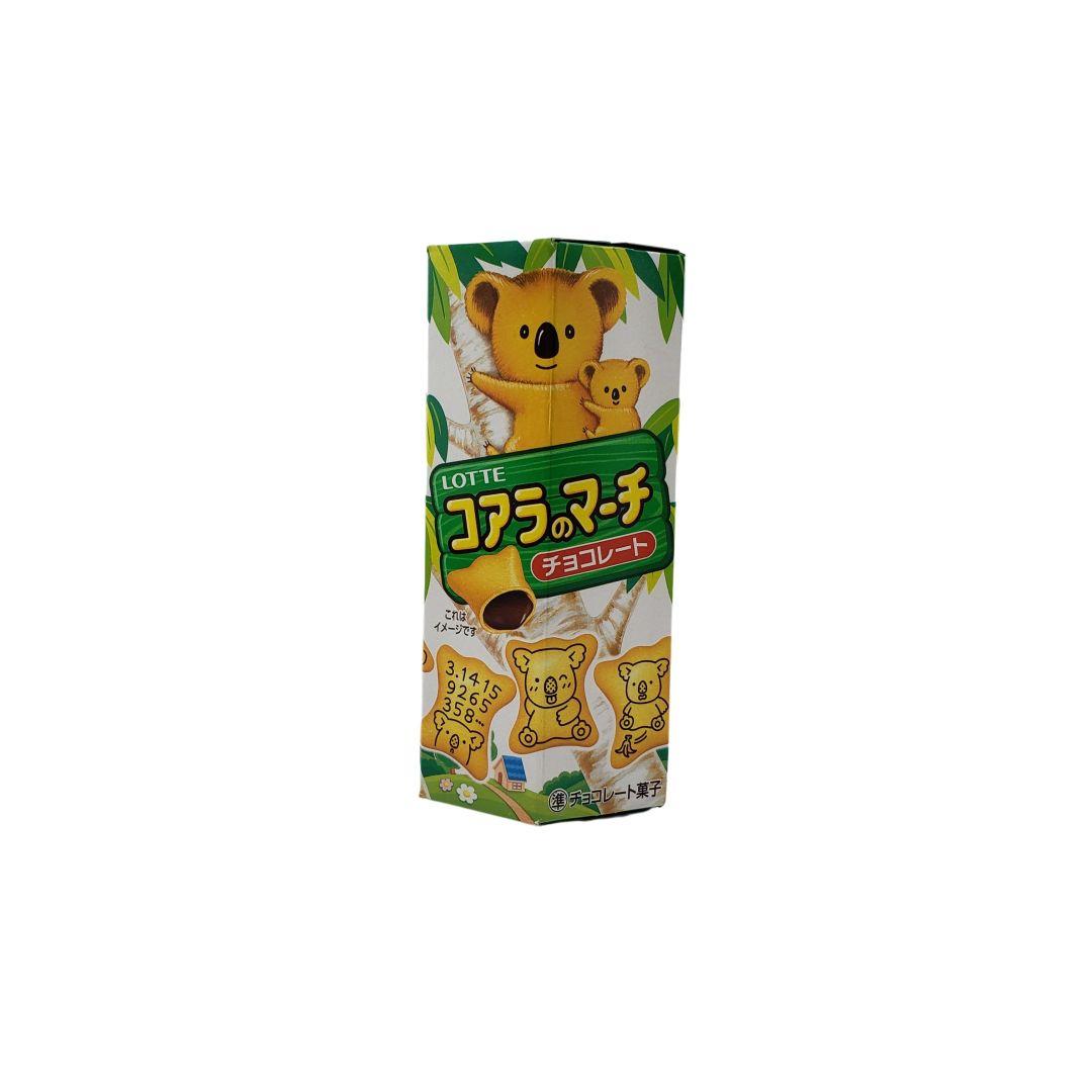 Biscoito Koala no Machi Lotte Chocolate Japonês 50g