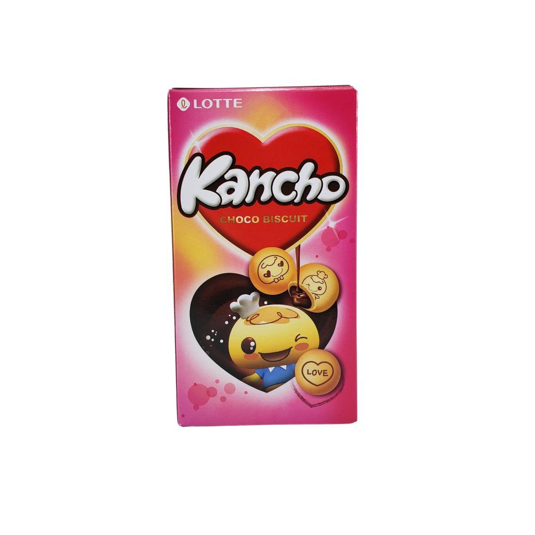Biscoito recheado com chocolate Coreano Kancho 42g