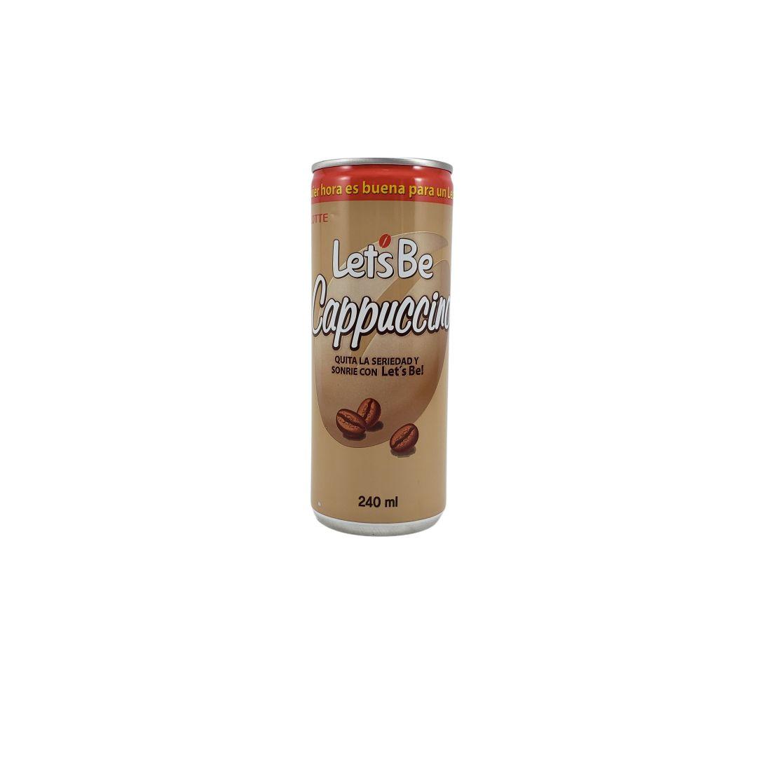 Café Pronto Lets Be Cappuccino Lotte 240ml
