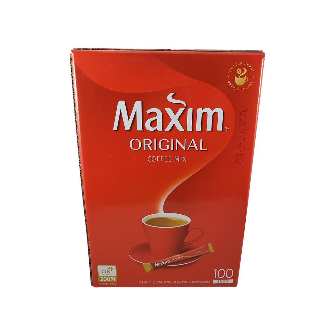 Café Solúvel Coreano Maxim Original 100 Sachês