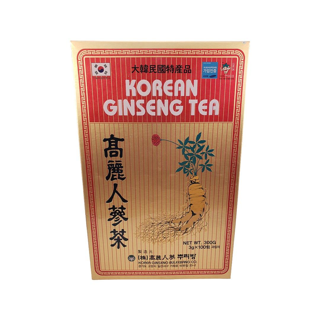Chá Coreano Ginseng Tea 100 Sachês 300g