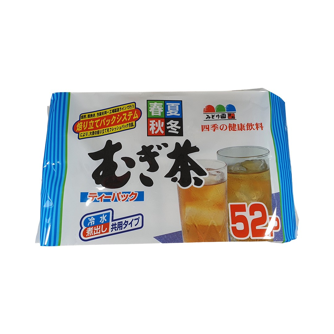 Chá de Cevada Mugi Cha Midorien 52 sachês