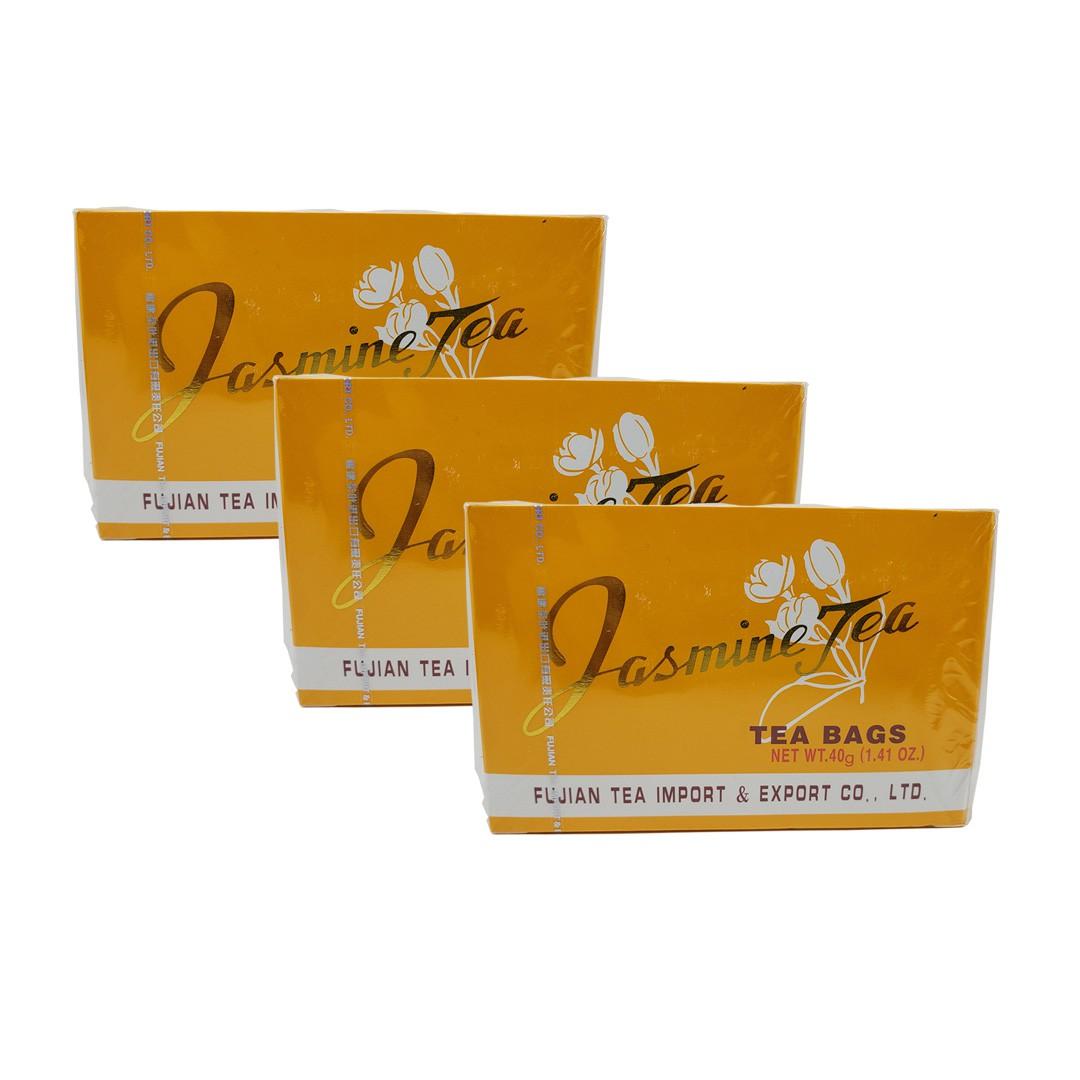Chá de Jasmim Importado Fujian 20 Sachês 3 unidades