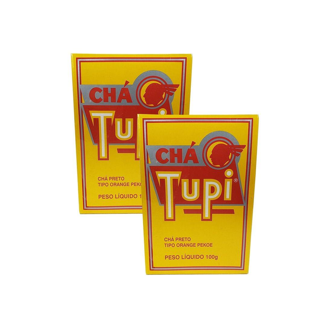 Chá Preto Tupi 100g Kit 2 unidades
