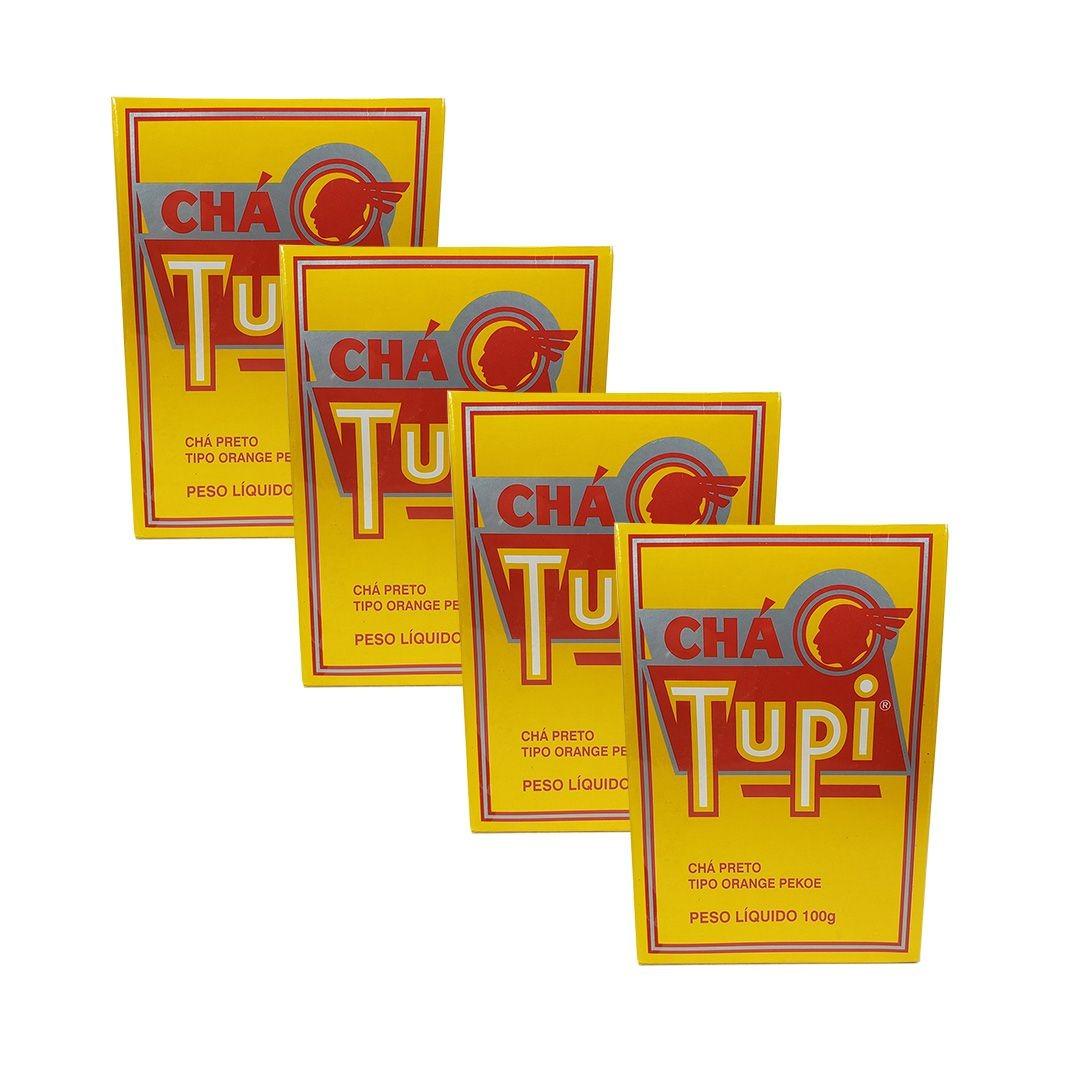 Chá Preto Tupi 100g Kit 4 unidades