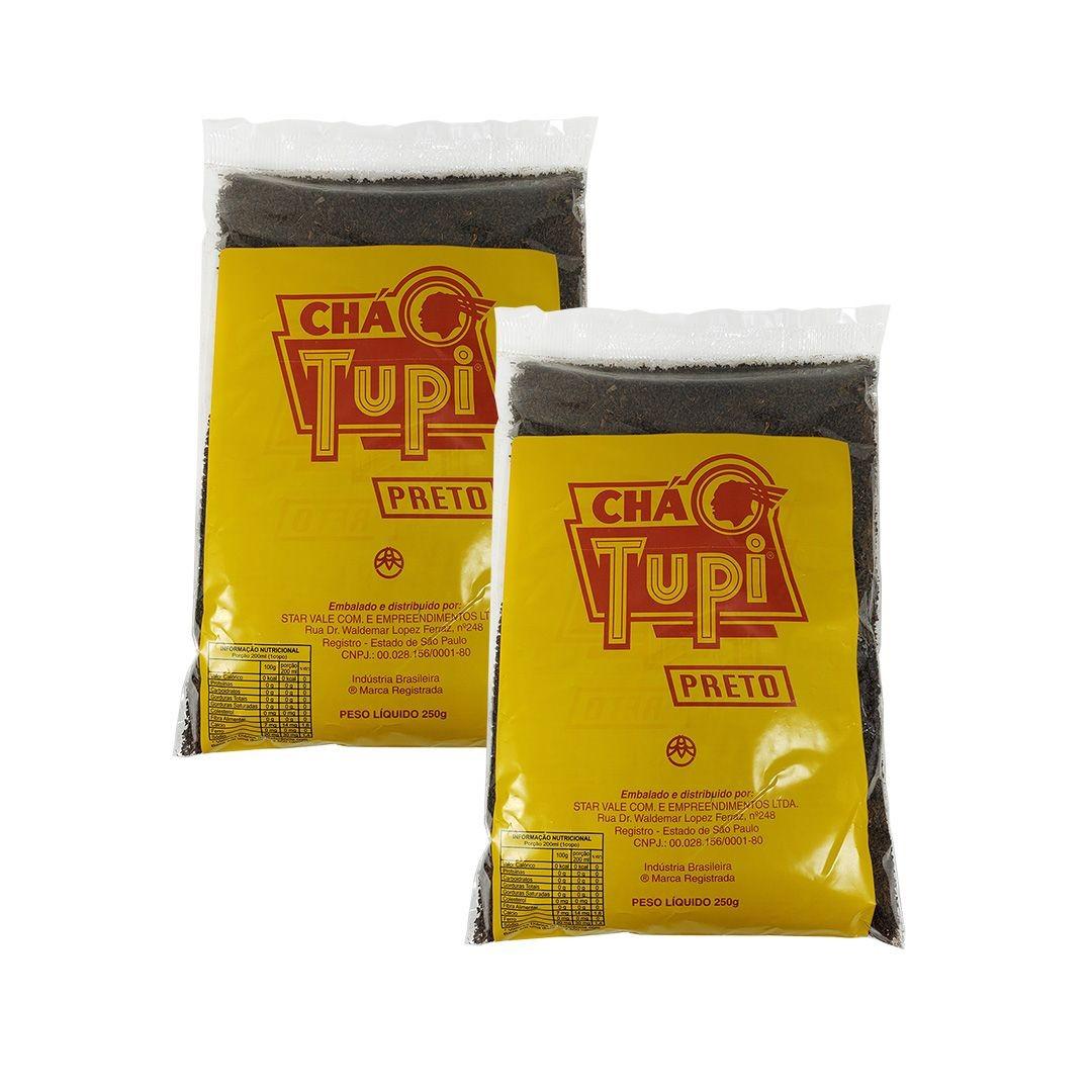 Chá Preto Tupi 250g Kit 2 unidades