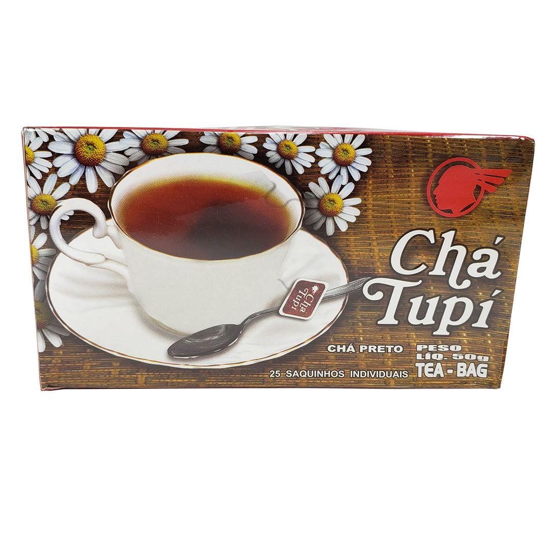 Chá Preto Tupi 25 Sachês 50g