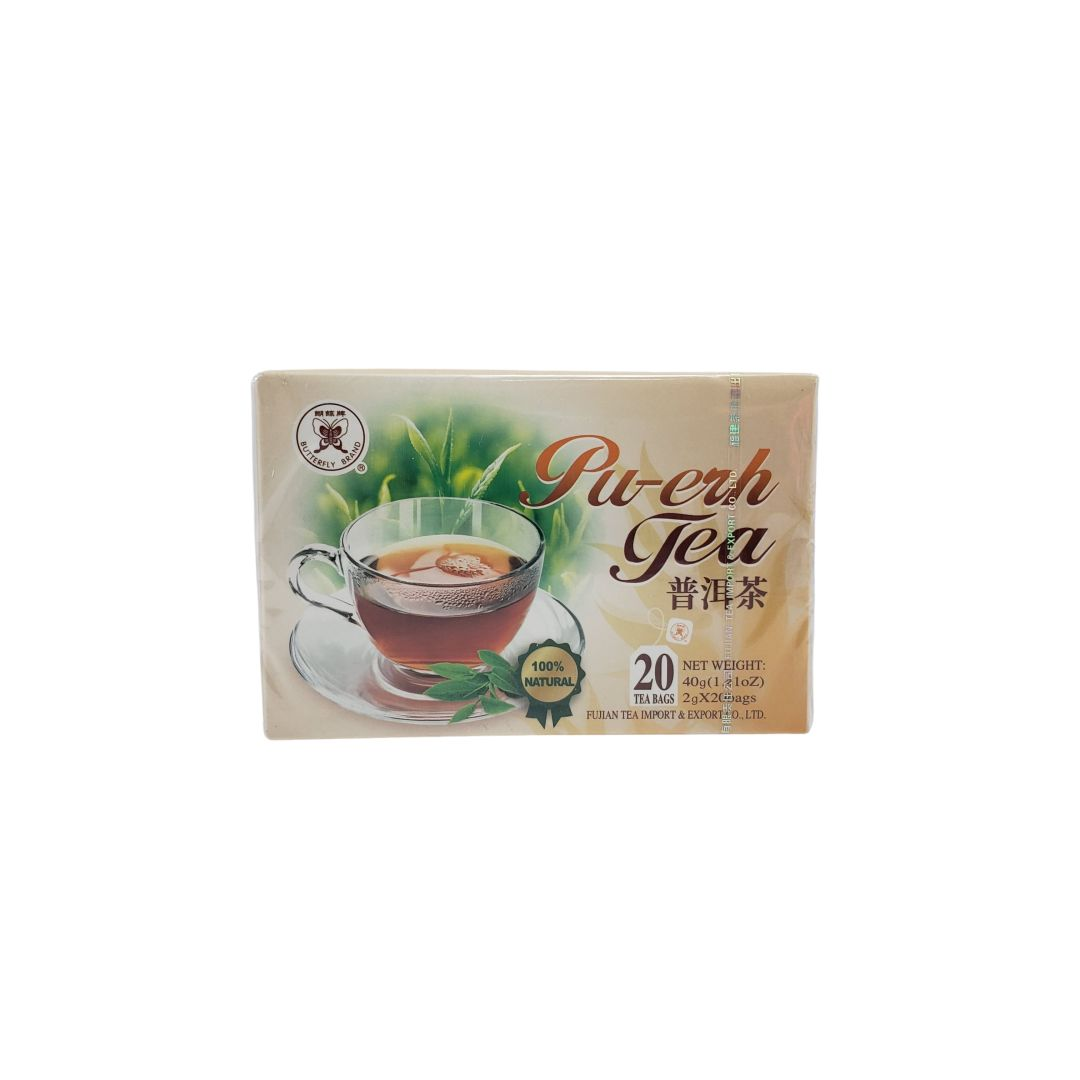 Chá Pu-Erh Importado Fujian 20 Sachês