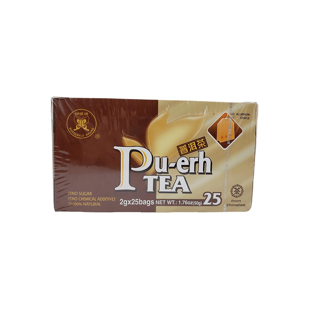 Chá Pu-Erh Importado Fujian 25 Sachês