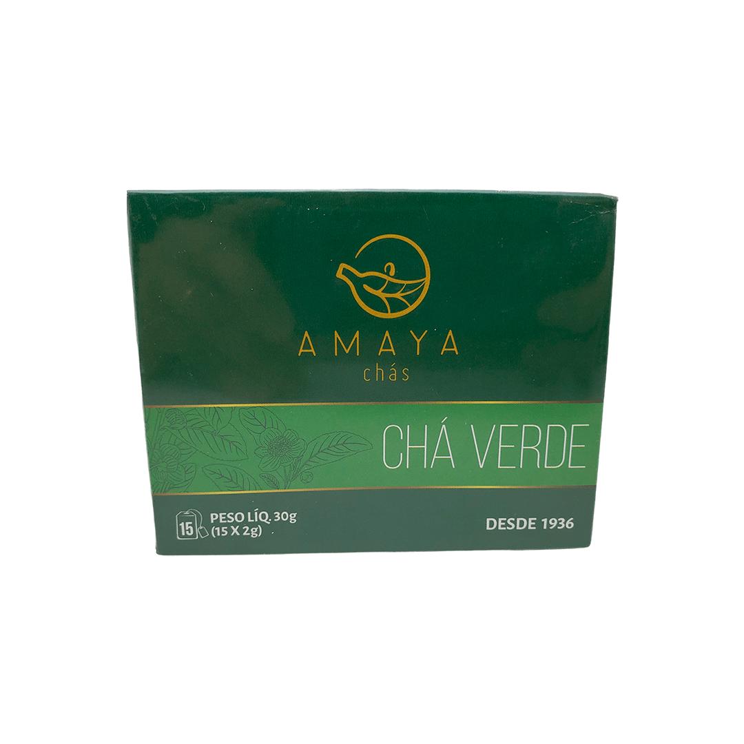 Chá Verde Amaya 15 Sachês