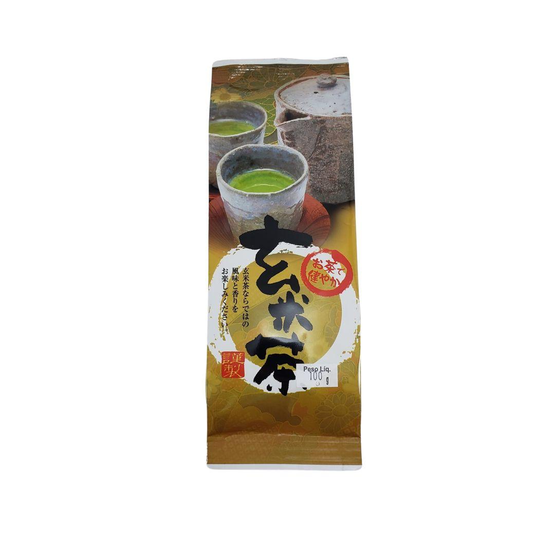 Chá Verde Genmai Cha Japonês Karin 100g