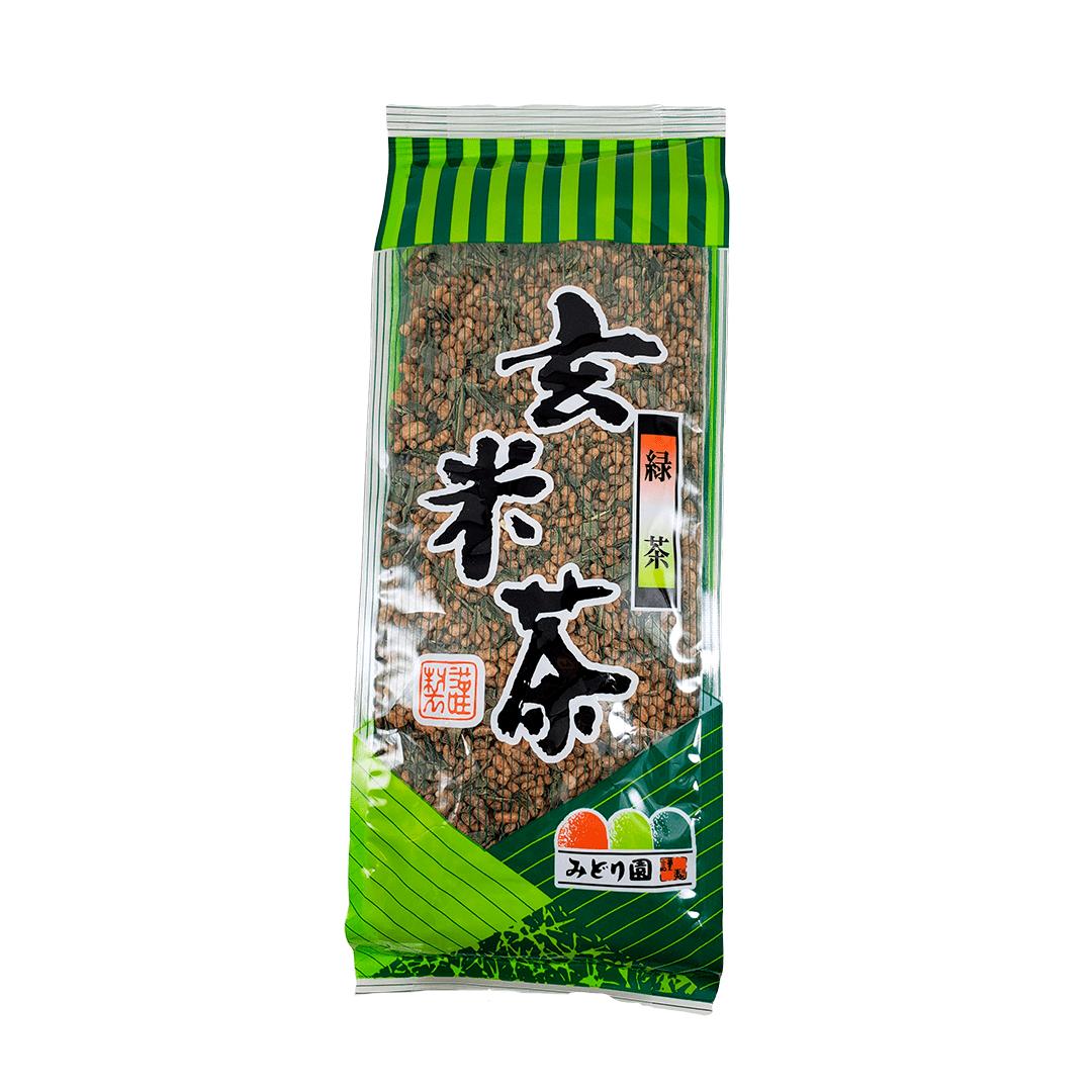 Chá Verde Genmaicha Midorien 150g