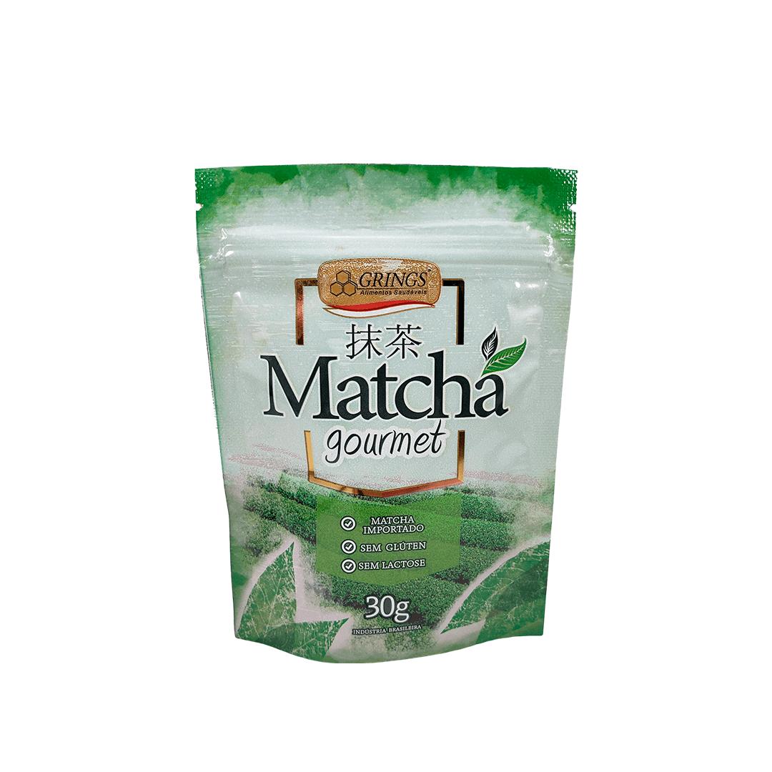 Chá Verde Matcha Gourmet Grings 30g