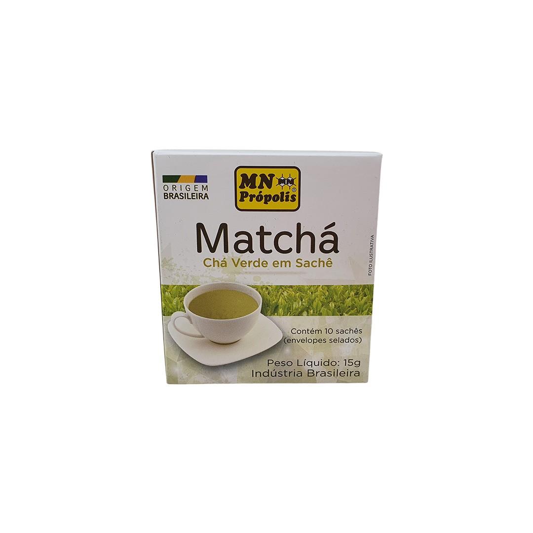 Chá Verde Matcha MN Própolis 10 Sachês 15g