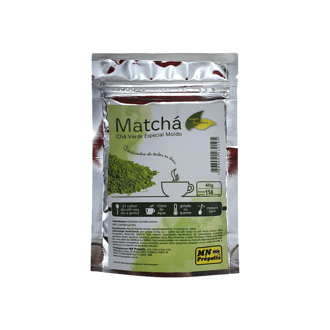 Chá Verde Matcha MN Própolis 40g