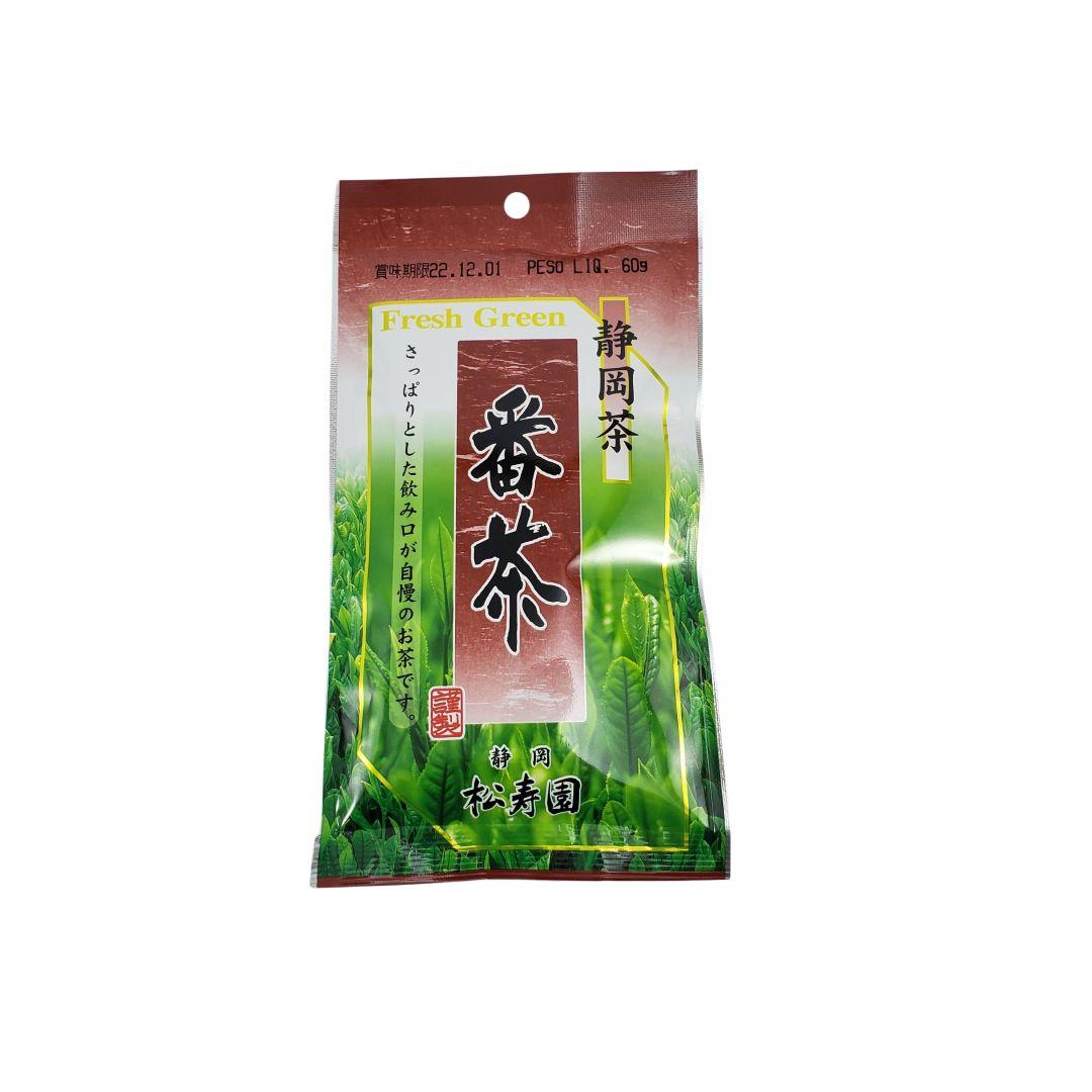 Chá Verde Shojyu En Jyo Banchá Japonês Maruka 60g