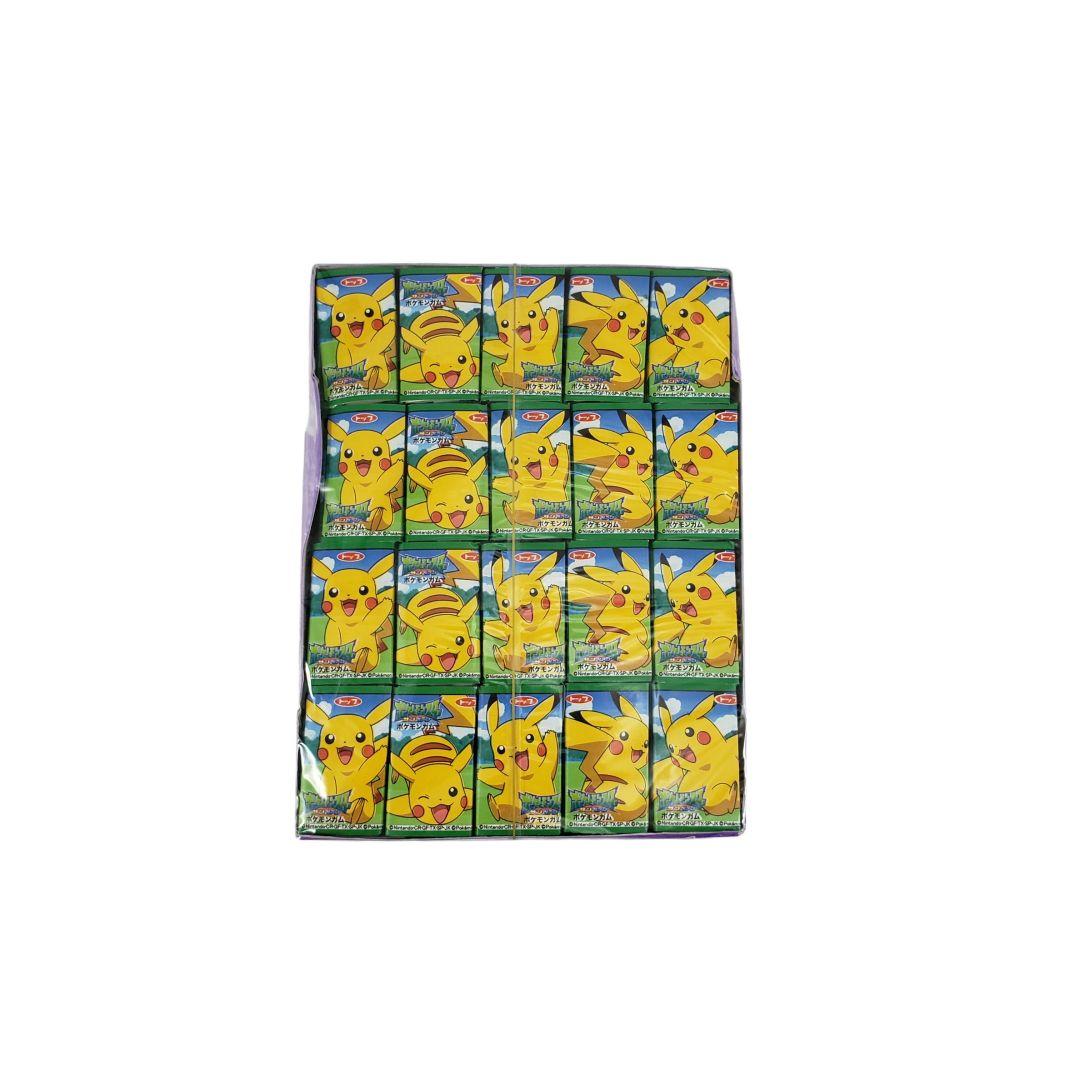 Chiclete Japonês do Pokemon Pikachu 60un 312g