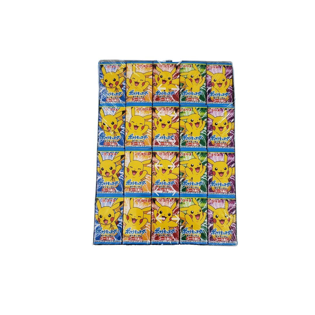 Chiclete Japonês do Pokemon Pikachu sabor Cola 60un 312g