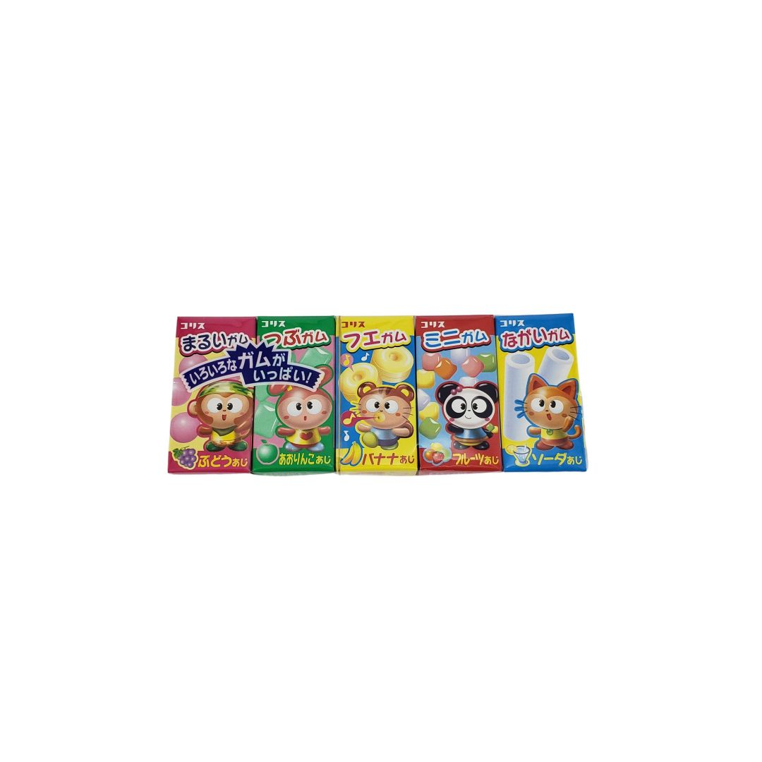 Chiclete Japonês Gum Gum 5 Coris 38g