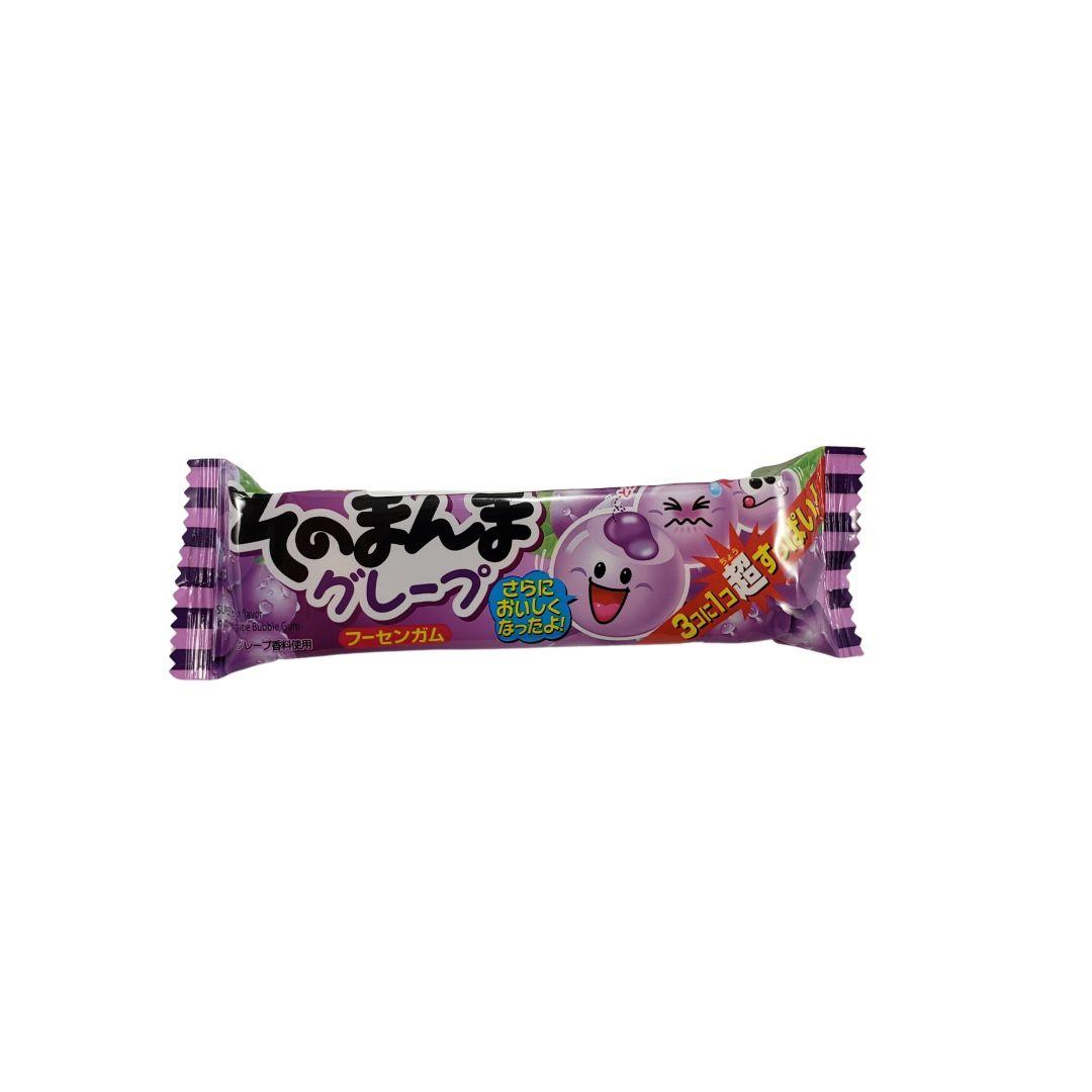Chiclete Japonês sabor Uva Sonomanma Grape Gum