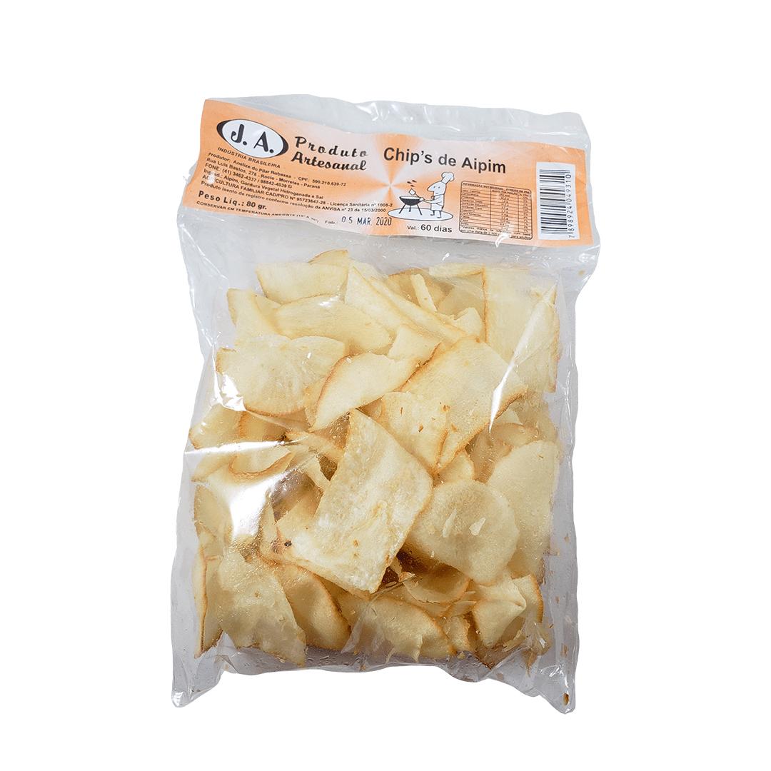 Chips de Aipim 80g