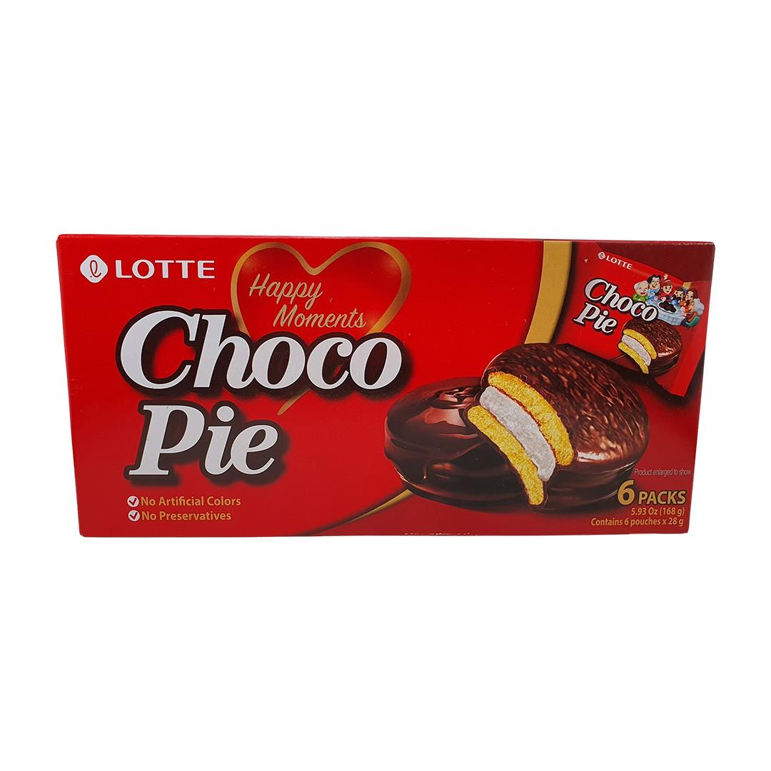 Choco Pie Lotte 168g - 6 unidades