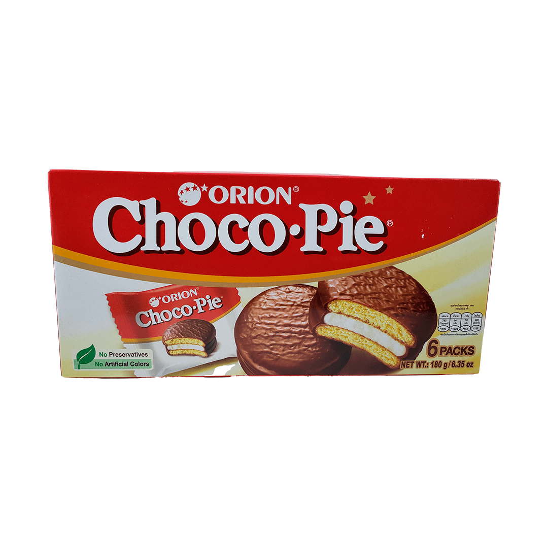 Choco Pie Orion 180g - 6 unidades