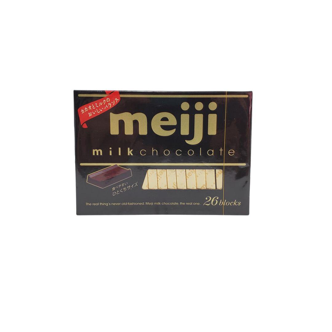 Chocolate ao Leite Japonês Milk Chocolate Box Meiji 120g