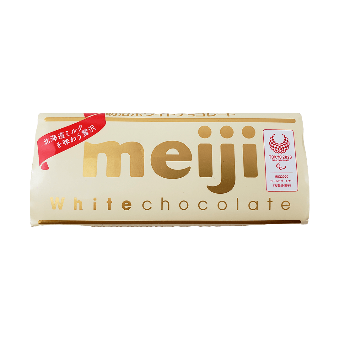 Chocolate Branco Japonês Meiji