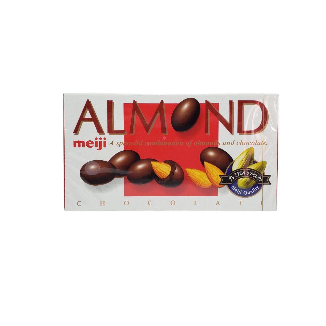 Chocolate Japonês Almond Meiji 88g