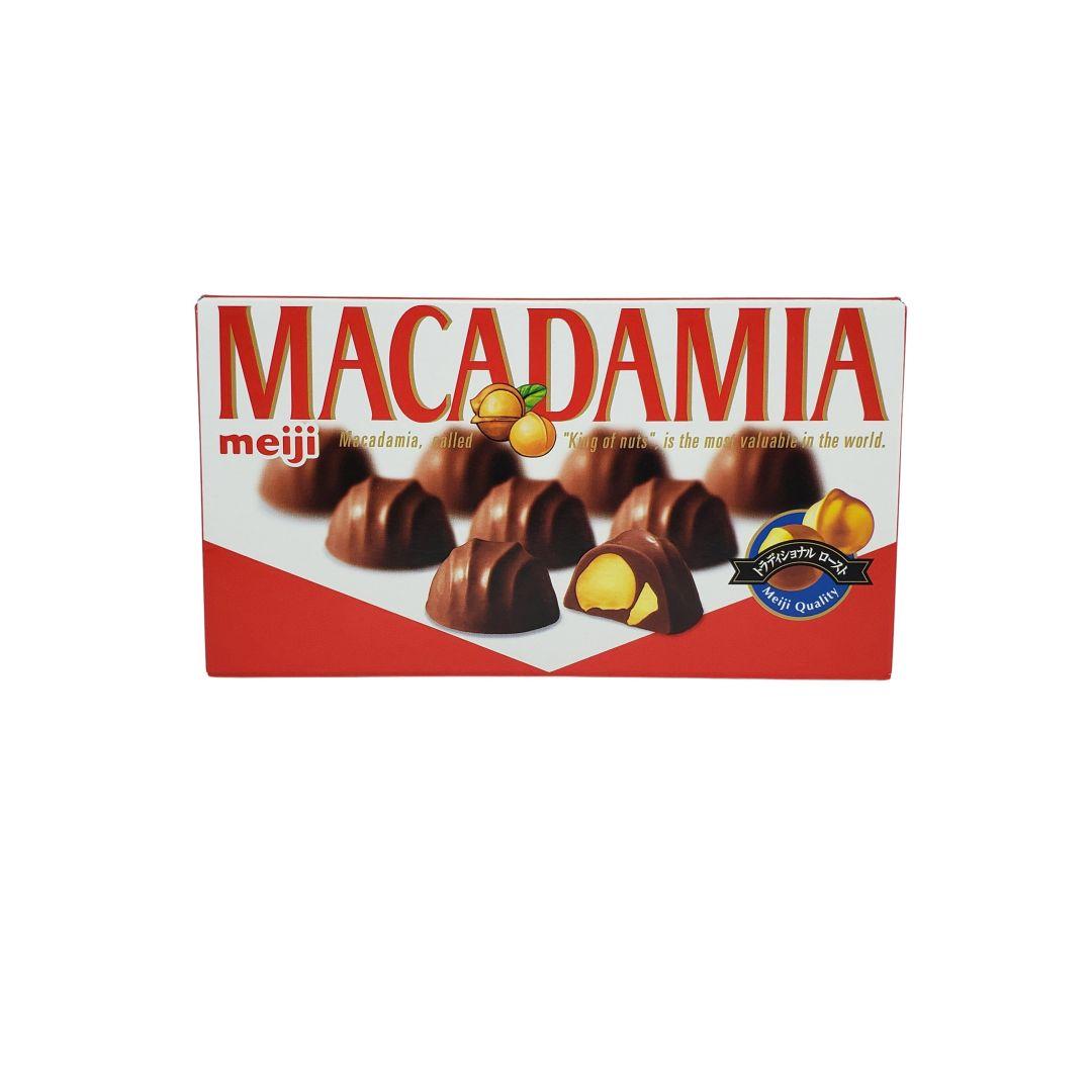 Chocolate Japonês Macadamia Meiji 64g