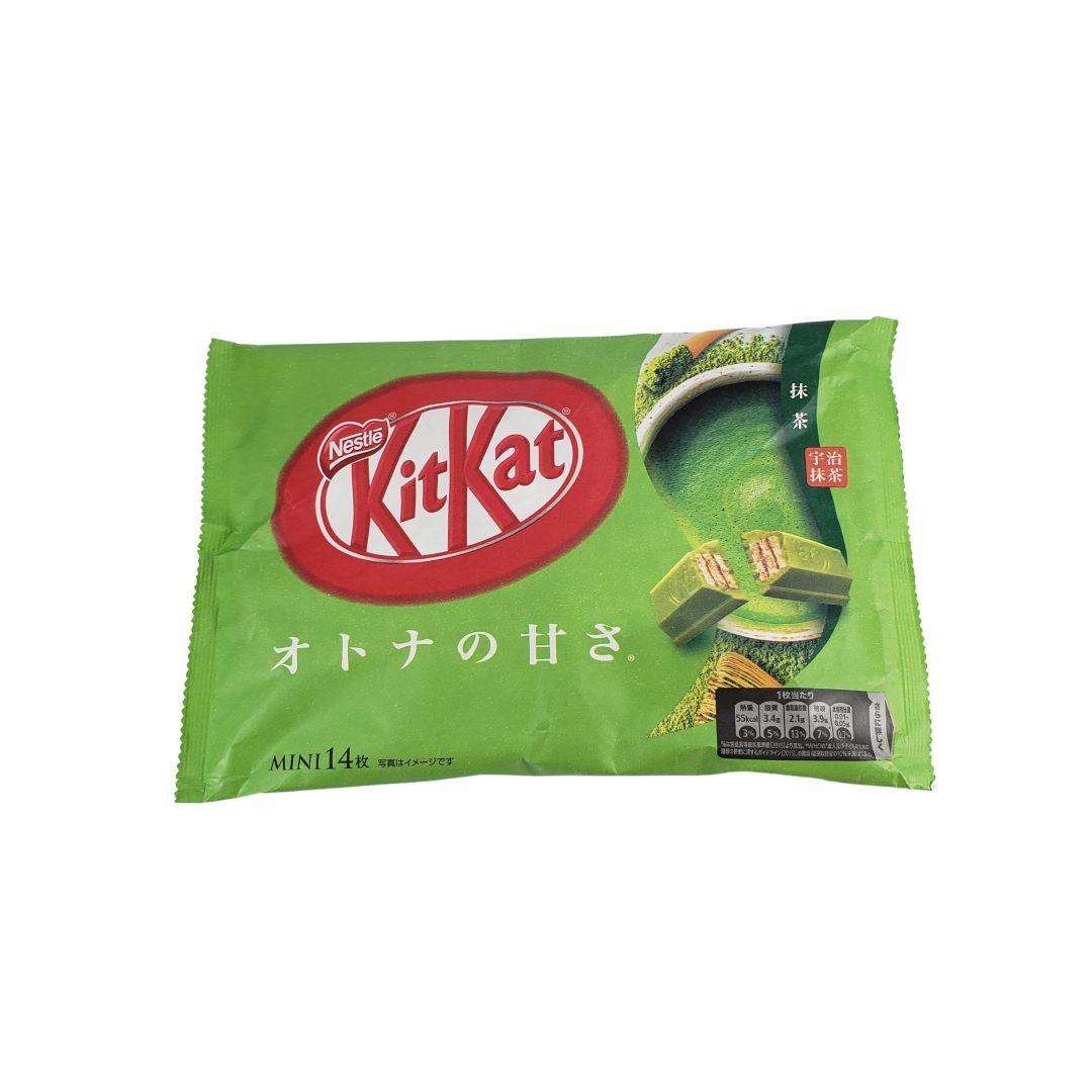 Chocolate Kit Kat sabor Chá Verde Matcha Japonês 135g