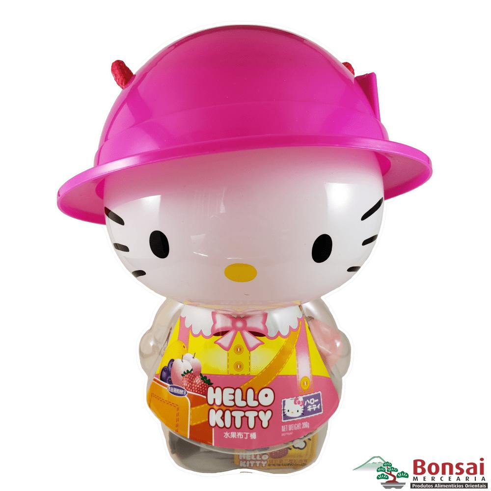 Cofrinho da Hello Kitty com gelatinas