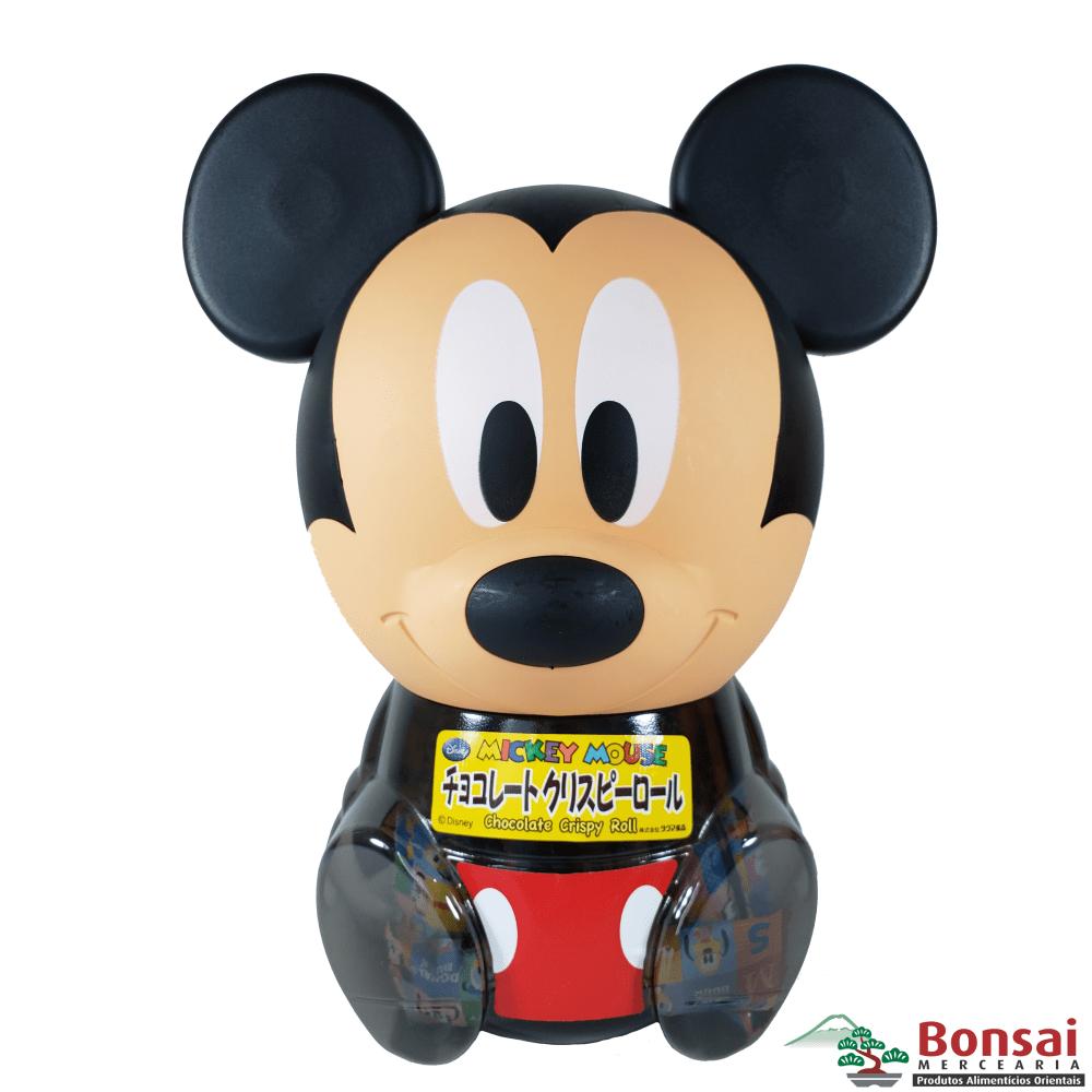 Cofrinho do Mickey com biscoitos de chocolate