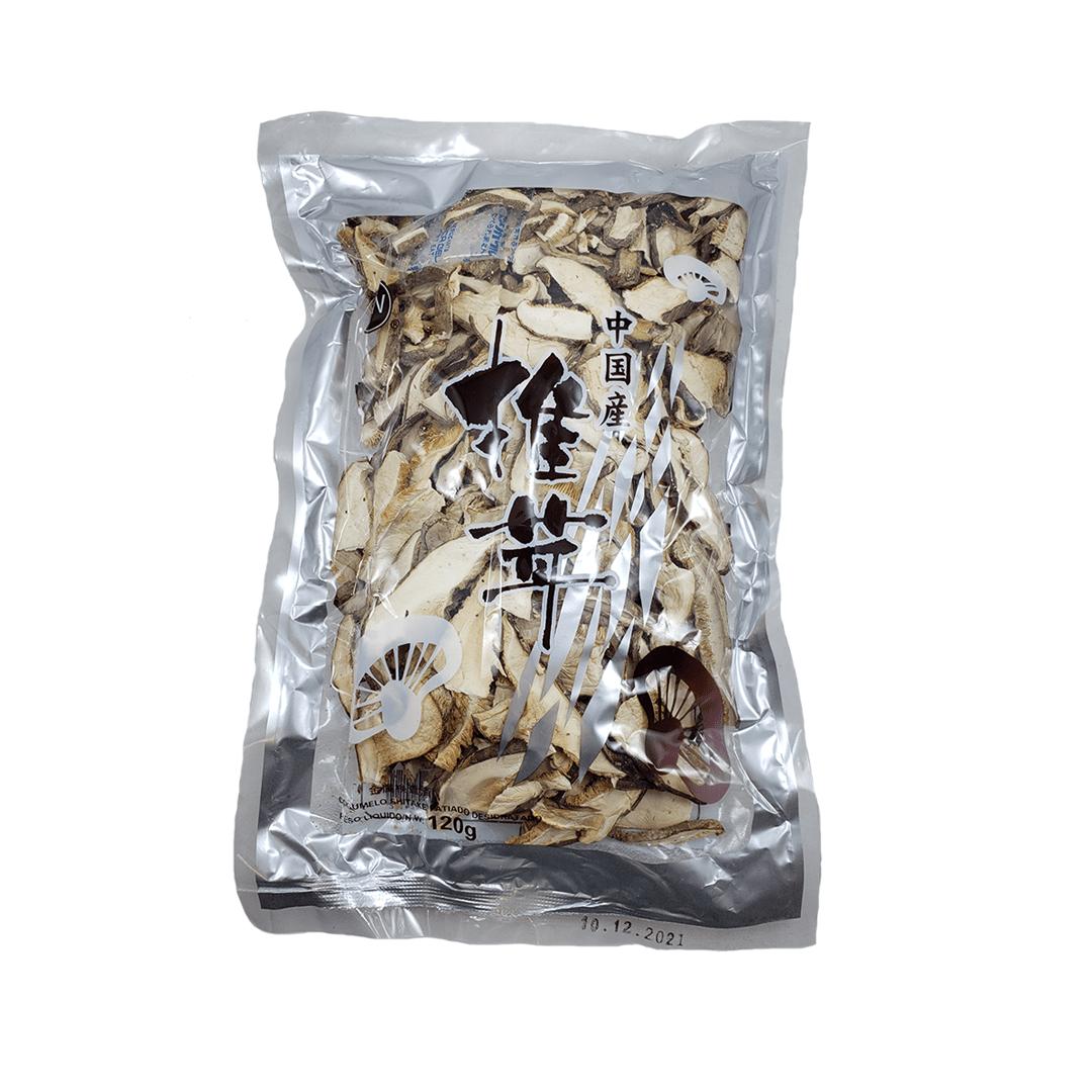 Cogumelo Shitake Desidratado Fatiado GW 100g