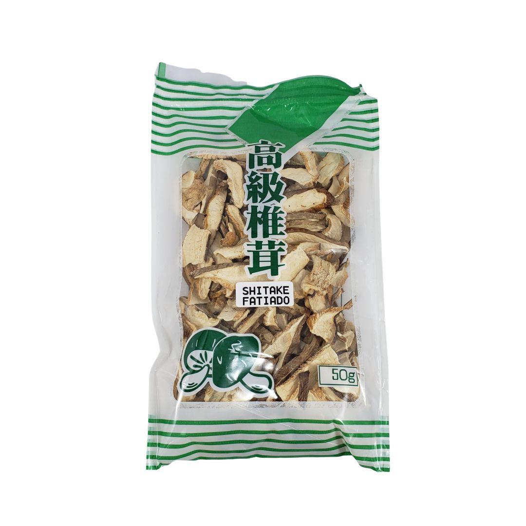 Cogumelo Shitake Desidratado Fatiado Isetan Tajimaya 50g