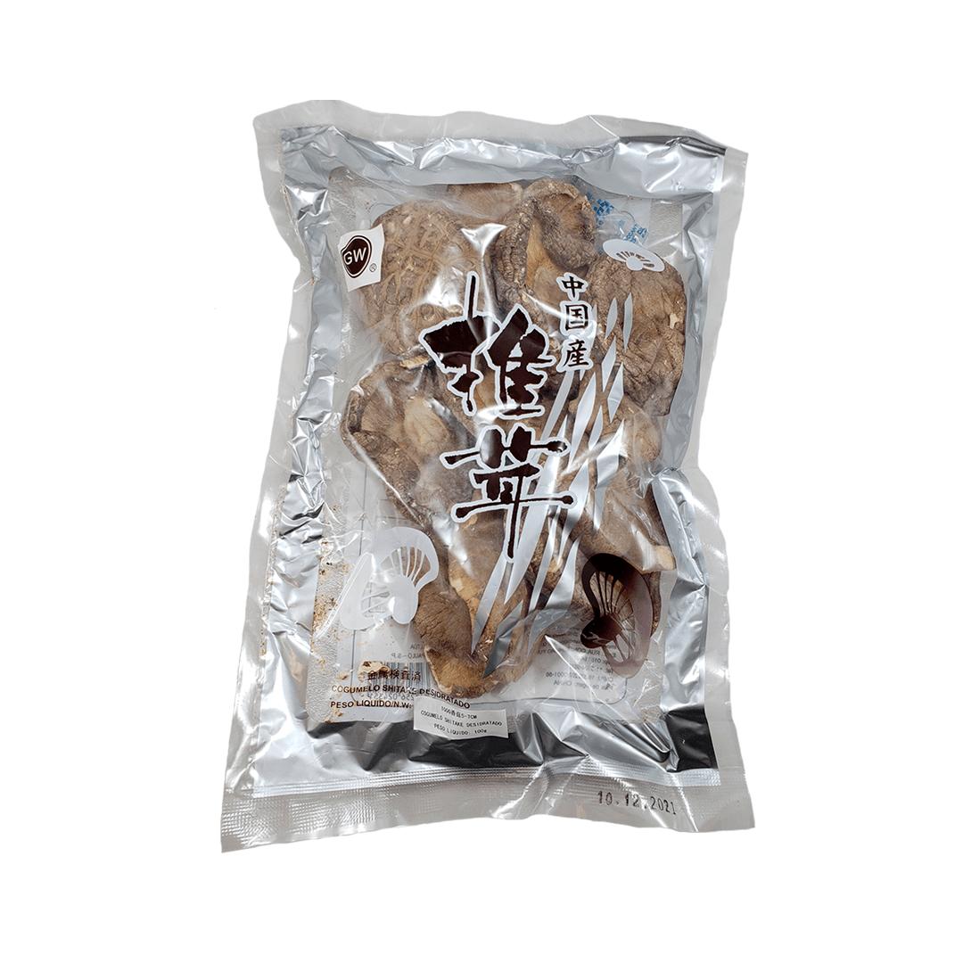Cogumelo Shitake Desidratado Inteiro GW 100g