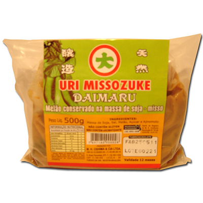Conserva de Melão no Misso Uri Missozuke Daimaru 500g