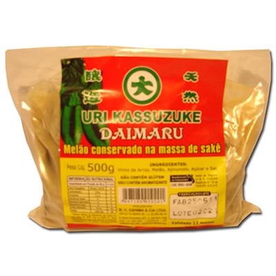 Conserva de Melão no Sakê Uri Kassuzuke Daimaru 500g
