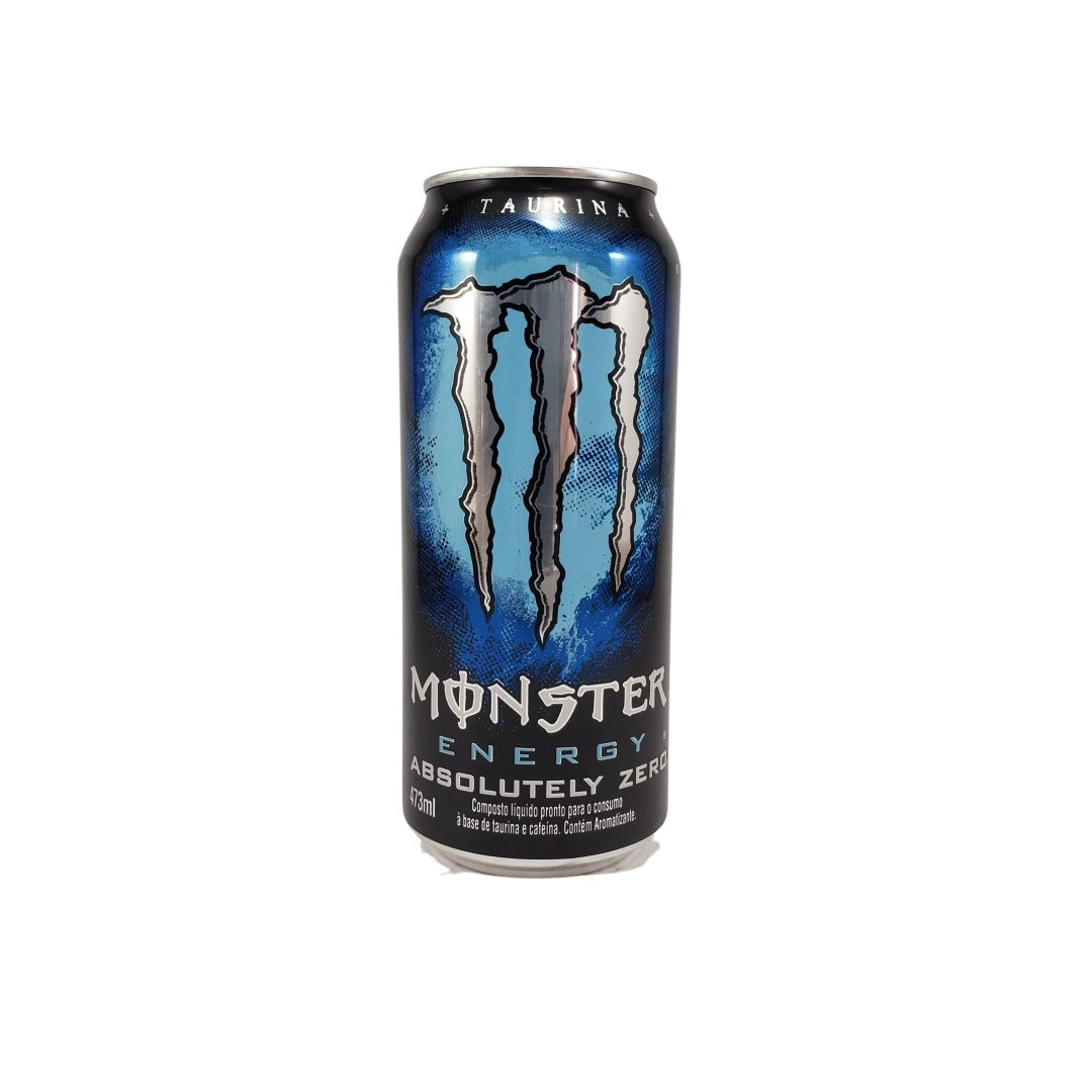 Energético Monster Energy Absolute Zero 473ml